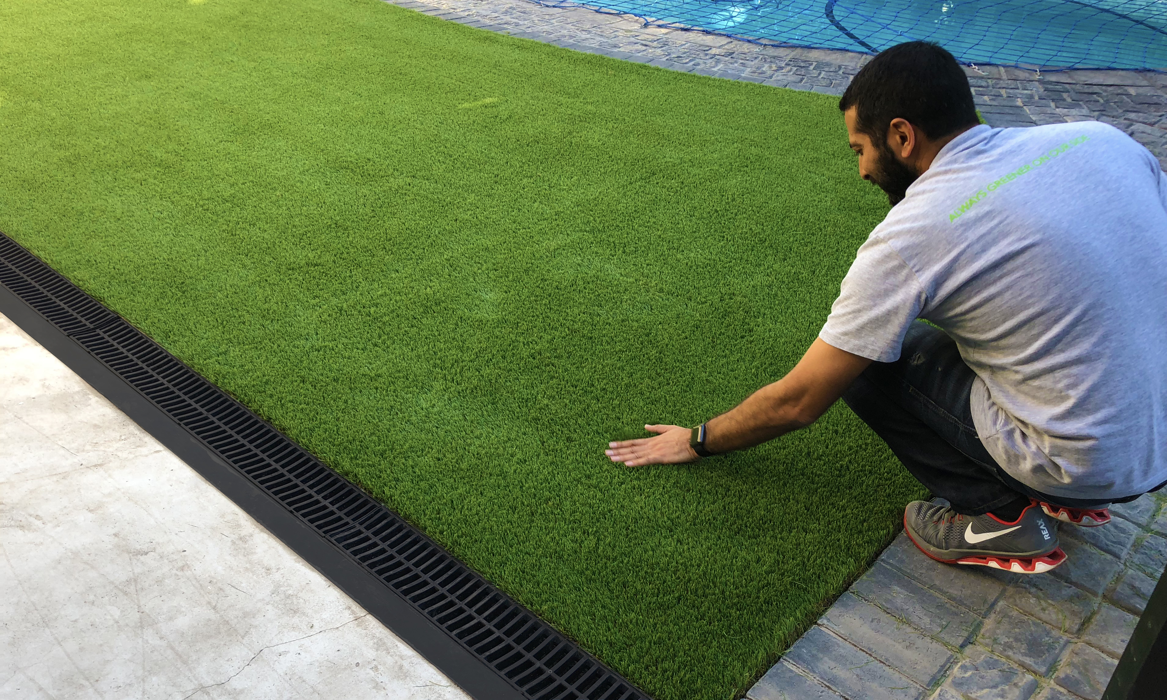 How to fix damaged astroturf